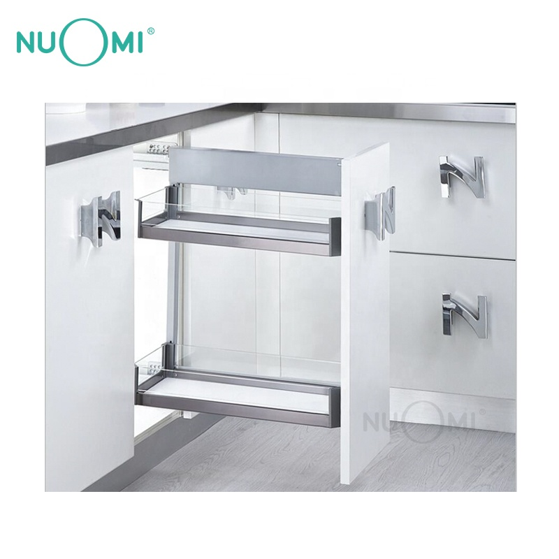 NUOMI Modular Cabinet Two-tier Side Assembly Basket PURPLE CRYSTAL series