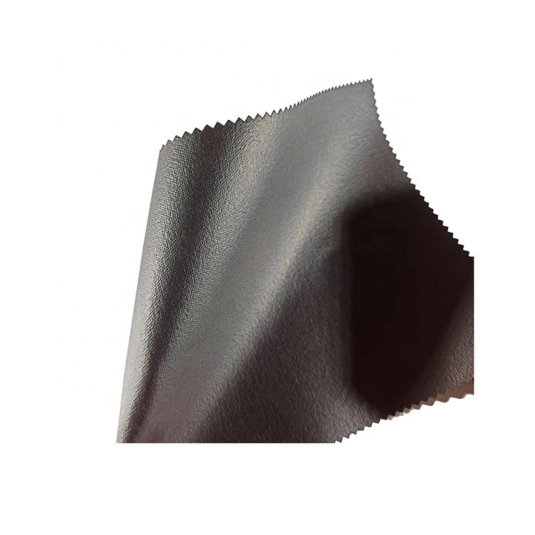 Abrasion-resistant pigskin lines PU dipping shoe lining material leather