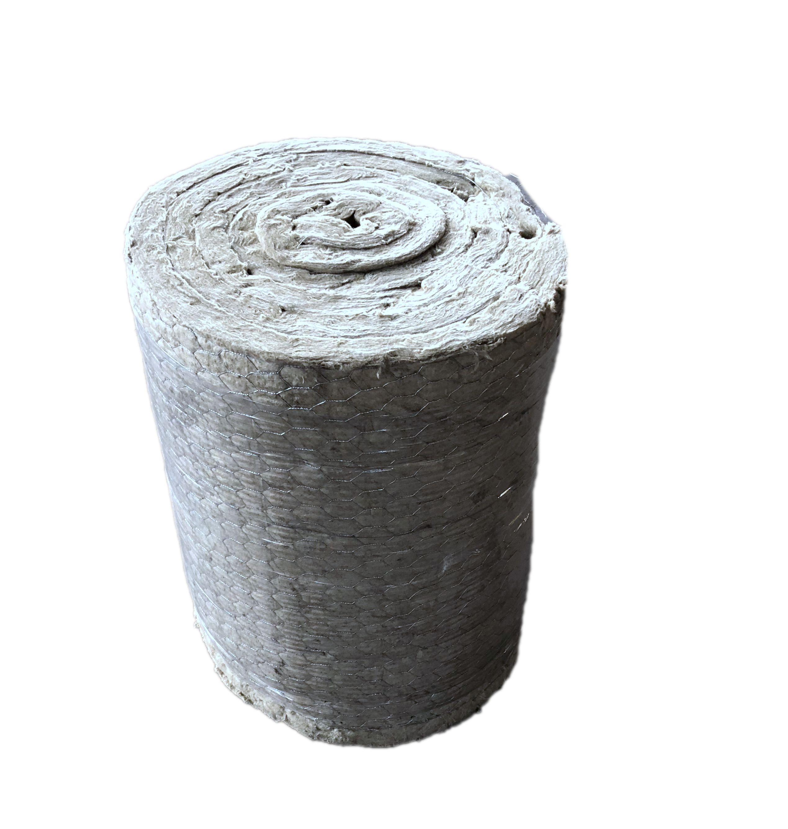 ความหนาแน่นสูง rockwool ฉนวนกันความร้อนอะคูสติกควบคุม rock ผ้าห่มขนสัตว์ฉนวนกันความร้อน