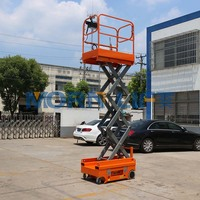 Cheap battery electric small platform scissor man lift
