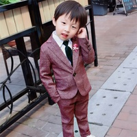 Kids Clothes boys suit for Weddings Children Formal Suits boy baby clothes