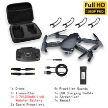 Wifi FPV Профессиональный Квадрокоптер мини-Дрон с широкоугольным HD камерой 4K 1080P режим удержания высоты VS E58 GD89 дроны камера s игрушки(Китай)