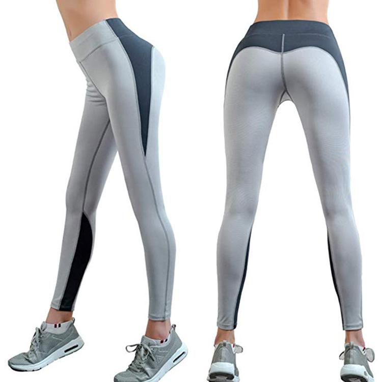 Thickness Autumn Womens Yoga Pants High Waist Workout Pants Running Workout Yoga Leggings