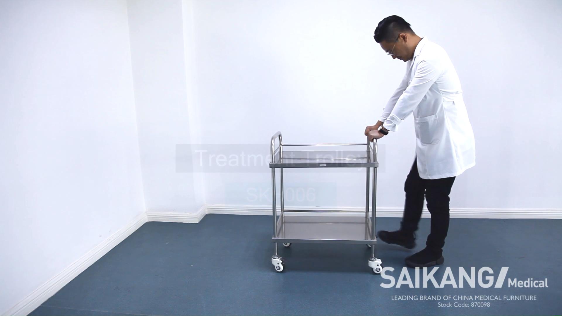SKH006-5 di Emergenza Medica Ospedale Trolley