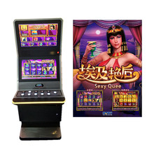 Muntautomaat Gokken Touch Multi-Game Arcade Machine Gebogen Lcd-scherm <span class=keywords><strong>Sexy</strong></span> Koningin Slot Machine Game