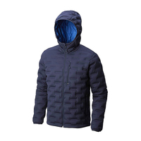 China Supplier Seamless Welded 90% Down 10% Feather Men Jacket