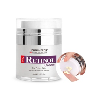 Natural Skincare Cosmetics Nighttime Vitamin A Anti Aging Moisturizer Private Label Face Retinol Cream