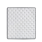 Full size china spring cooling Ice silk topper cover high density sponge mattres natural latex mattress spray-bonded sponge