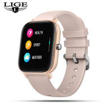 LIGE 2020 новые женские цифровые часы водонепроницаемые спортивные для xiaomi iPhone многофункциональные спортивные электронные часы мужские и женс...(China)