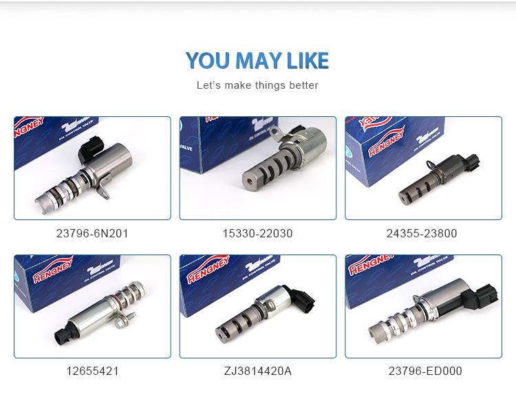 Automotive Spare Parts 15330-75010 para Toyota Hilux 2TR Tacoma 2.7 L4 05-11 Gás Motor VVT Variável comando de Válvulas Solenóide