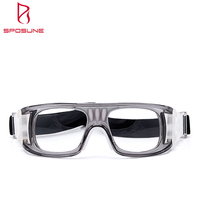 Wholesale PC Frame Material Usage Adjustable Football Glasses Basketball Goggles