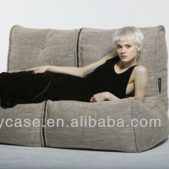 Modern Twin Couch Bean Bag Sofa