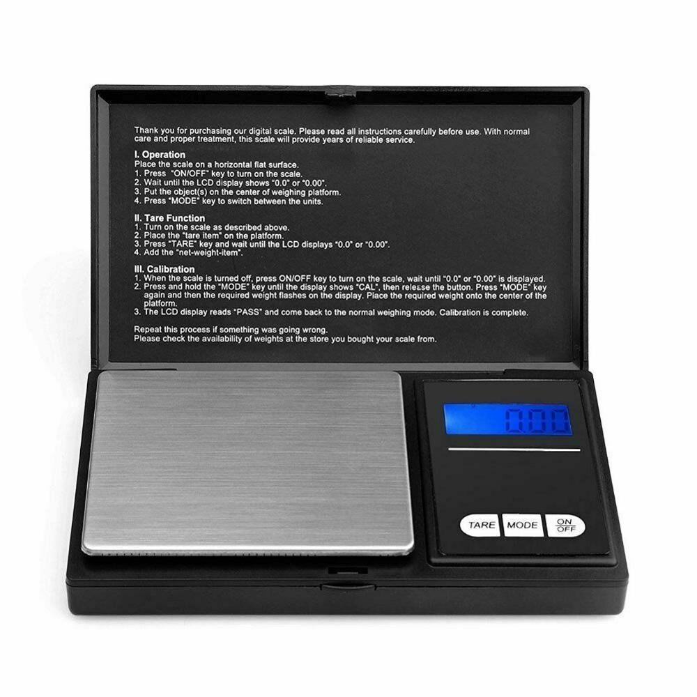 Mini Digital Electronic Pocket Gold Jewellery Weighing <strong>Scales</strong> 0.01G to 100/200/500 Grams