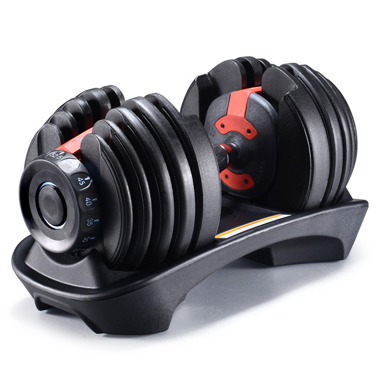 hot sale high quality fitness equipment body building adjustable dumbbell set