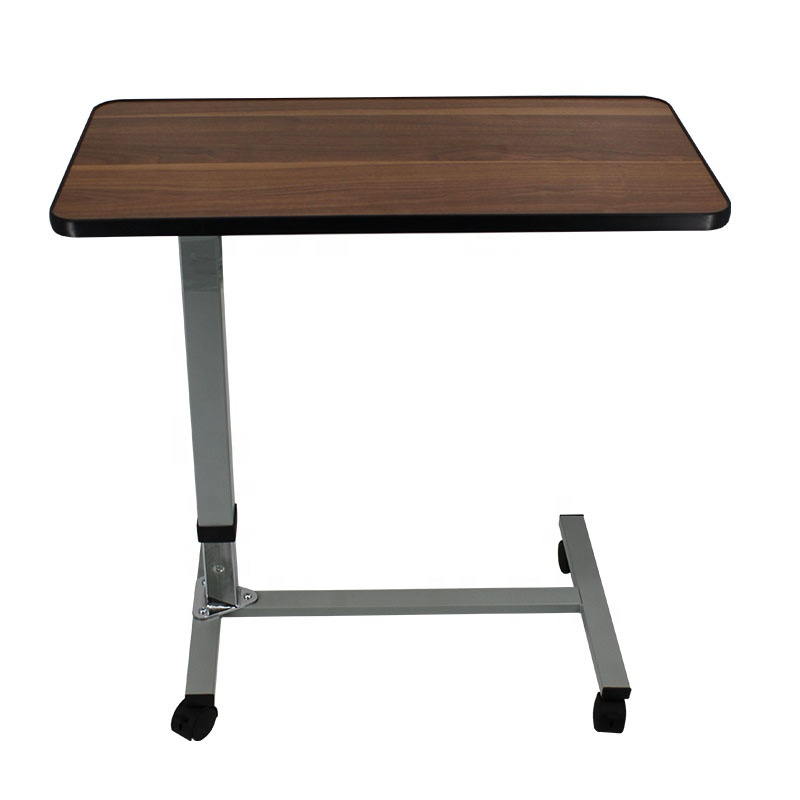 <strong>Medical</strong> Adjustable Overbed <strong>table</strong> Bedside dinning <strong>Table</strong> With Wheels MK06001