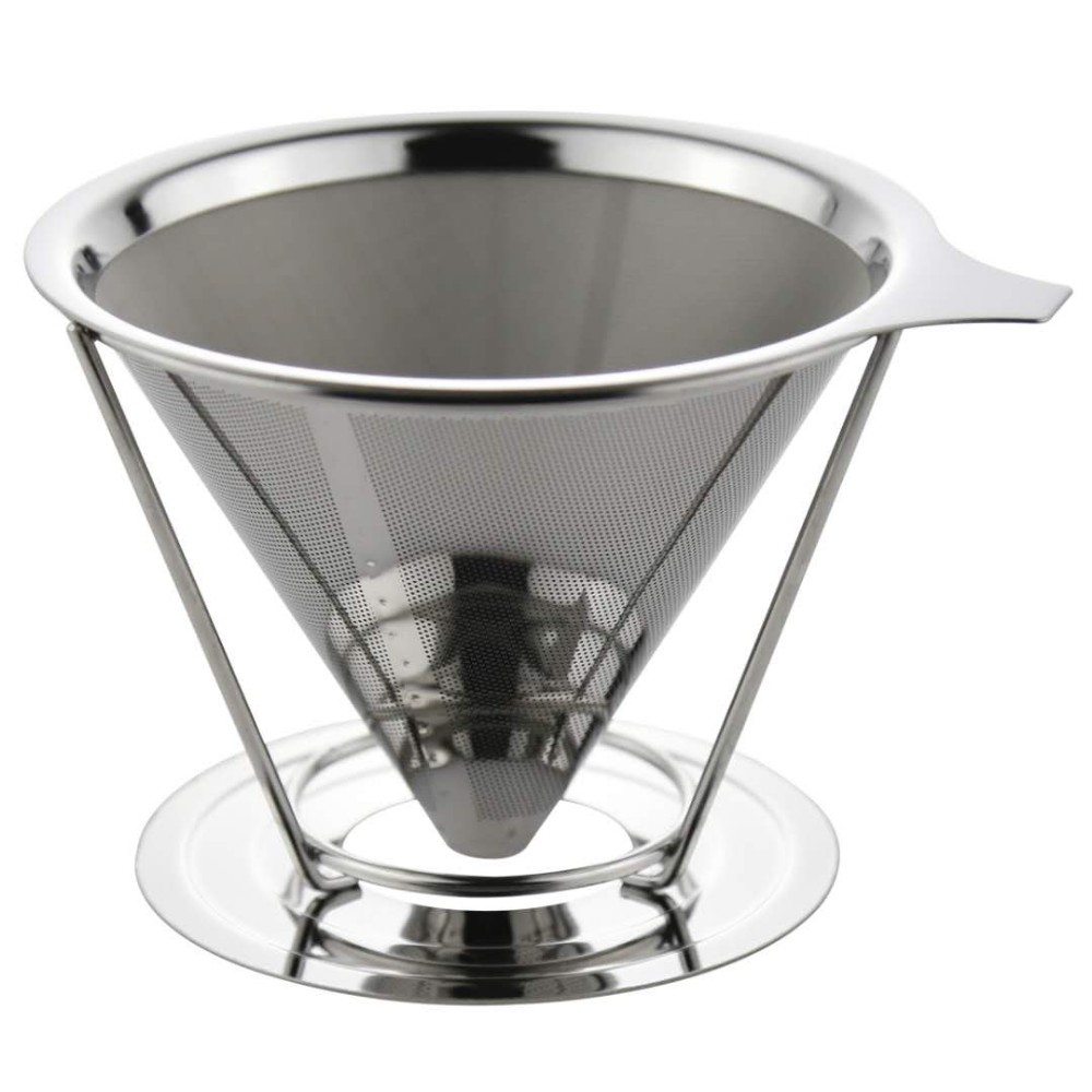 Hot sales worldwide Stainless Steel <strong>Coffee</strong> Filter Cone/Clever <strong>Coffee</strong> Dripper /<strong>Drip</strong> <strong>Coffee</strong> <strong>Maker</strong> with Holder