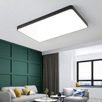 nordic surface mounted modern square led light ceiling lamp