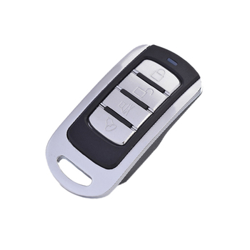 Universal Metal Wireless Remote Control Learning Fixed Code 433MHz 4 Channels 12V 10mA for Electronic Garage Door Gate Alarm
