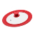 28/30/32cm Universal Tempered Glass Cover Lid Cookware Multifunctional