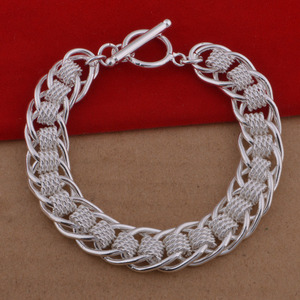 Silver-plated bracelet wholesale jewelry sales in Europe and the United States another silver jewelry creative small goods