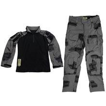 Черный порох/BG T-block Открытый Тактический Полный комплект боевой одежды-XXL(Китай)