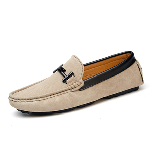 Mens shoes loafer casual leather suede shoes ,men's driving shoes