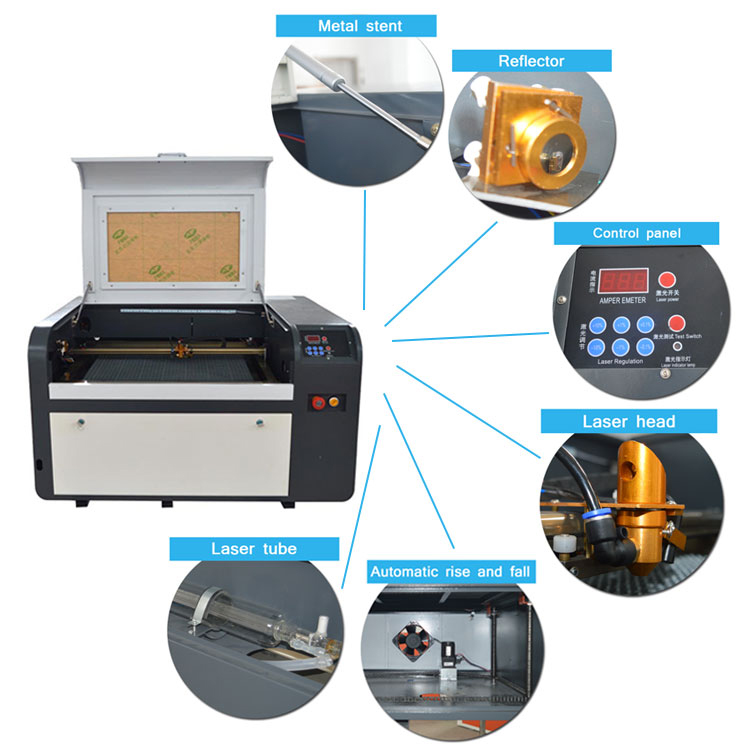 portable laser engraver machinery 50w 60w laser cutter equipment sale