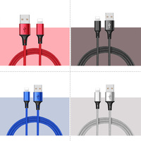 strong 1M sync wholesale oem micro 2a charger data usb charging cable for iphone 6 7 x ipad lightning