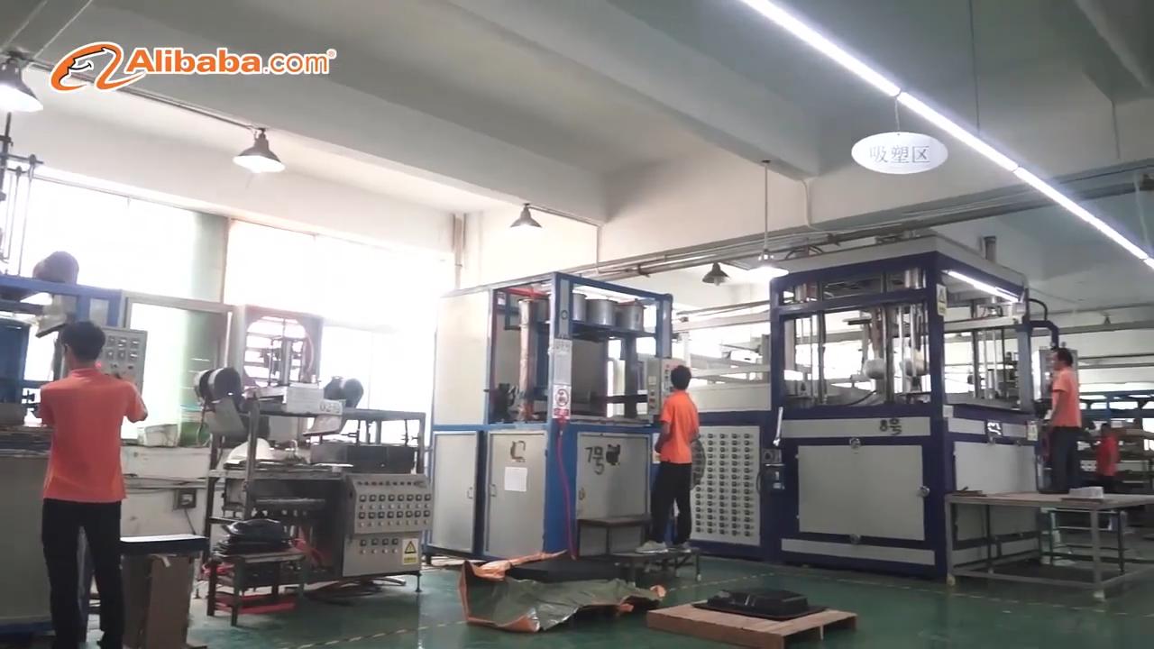 3D Design Grand Thermoformage ABS En Plastique Produit OEM Moulage Sous Vide Service Personnalisé Sous Vide Formant La Coquille De Machine Usine