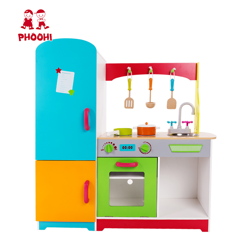 Oven Fridge Multi Function Kids Wooden