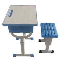 student table and chair School Furniture Used High School Classroom High quality Single Set Desk