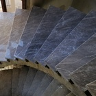 Top Quality Polishing Cairns Grey Blue Marble Slab For Stairs And Flooring