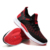 Unisex custom label high quality flying knit breathable casual shoes couples lightweight jogging sports sneakers