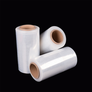 Clear PE Plastic LLDPE Packaging Rolls Wrap Stretch Pallet Film