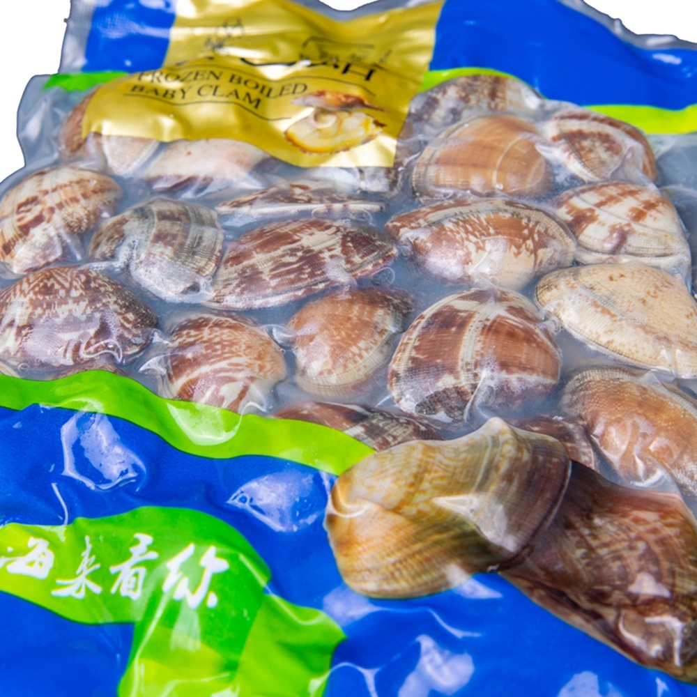 Tender Delicious Frozen Cooked Shell Off Short Neck Clam Meat
