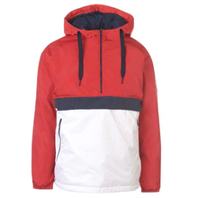Mannen <span class=keywords><strong>Kleur</strong></span> Blok Popover Hooded <span class=keywords><strong>Winter</strong></span> Down Jas