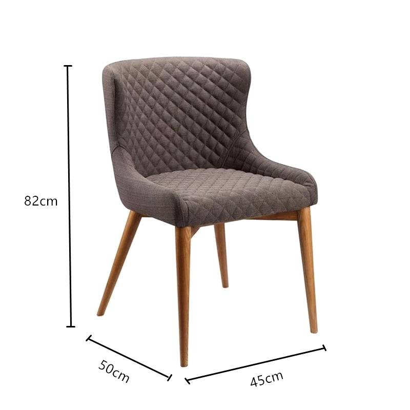 Luxurious furniture modern restaurant designer dining chair Modern Tufted Upholstered Dining Chairs for living dining room