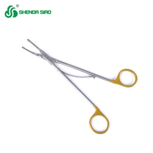 Factory Directly Medical Surgical Instruments Disposable Hemolok Clip Open Titanium Clip Applier