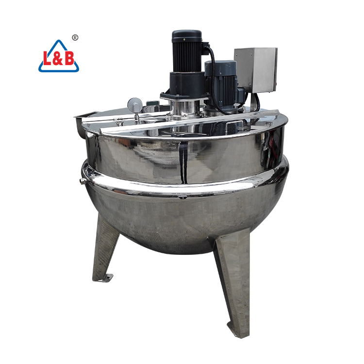 Factory Industries Stainless Steel Jacket kettle /Electric Heater Jacketed kettle