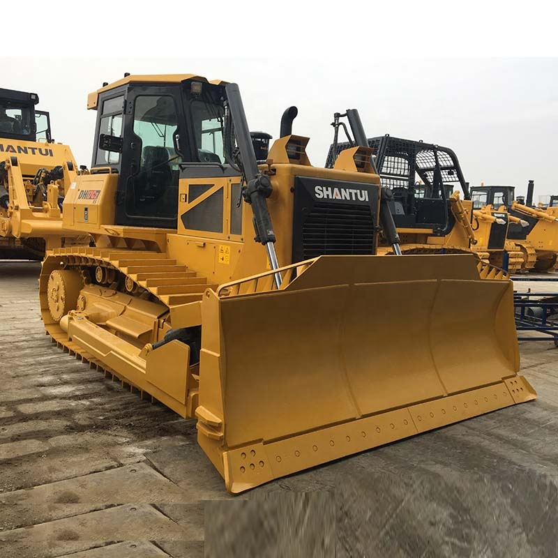 Shantui DH17 dozer ความจุ 170HP Crawler Bulldozer