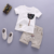Children's Sets Boys O-Neck T-Shirt and Pants Shorts Summer Clothes Casual Bear Cartoon Pullover Cotton Kids Boy Clothes
