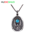 Wholesale Costume Turquoise Jewelry Eagle Copper Necklace