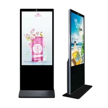 "43 ""49"" 55 zoll Alone stand Indoor digital signage lcd kiosk werbung display"