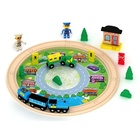Toys Train Wooden Railway Track Wooden DIY Toys Wooden Curved Tracks Wooden Bridge