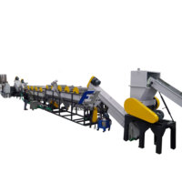 PE/PP film washing line plastic film washing line LDPE film washing line plastic recycling machine