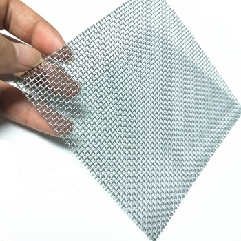 304 316L anti-theft insect /mosquito net stainless steel wire mesh for screen window