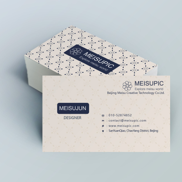 customized printing visiting business card