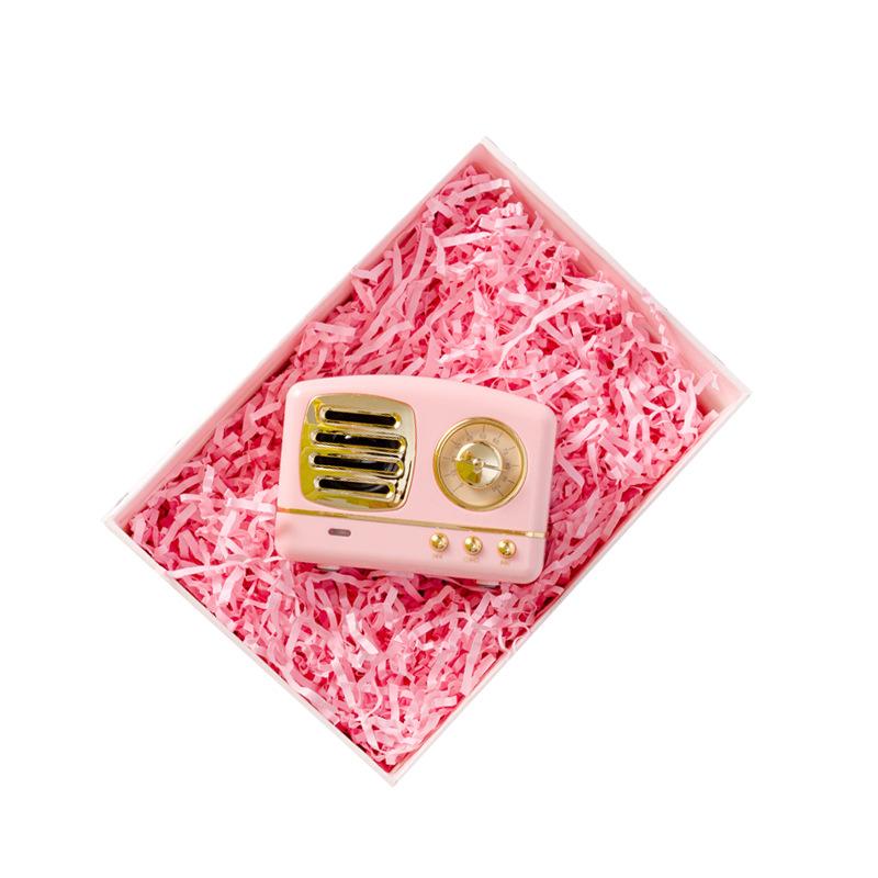 100 g/borsa Decorativo Crinkle Cut Rafia Tagliuzzato Carta Kraft Piega Regalo di Riempimento Piega di Carta