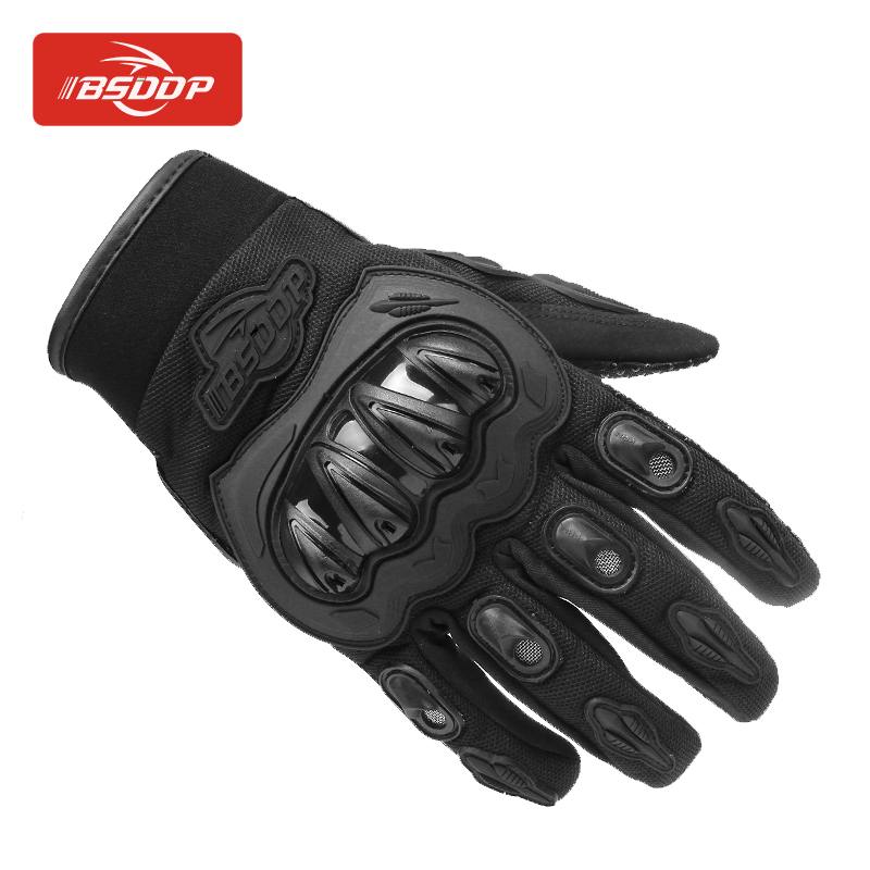 BSDDP Four Seasons General Moji Knight Outdoor Gloves Anti-skid Breathable <strong>Motorcycle</strong> <strong>Riding</strong> Gloves