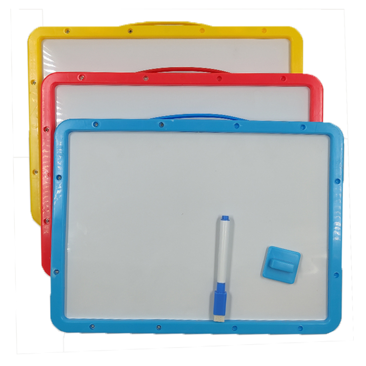 Wholesale Kid's magnetic alphabet toy painting drawing whiteboard arabic letters kids magnetic drawing board - Yola WhiteBoard | szyola.net